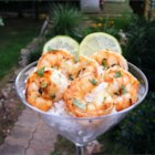 Margarita Grilled Shrimp - The shrimp can be marinated up to 3 hours before grilling. The amount of red pepper used can be adjusted according to how hot you like it. The marinade is also great on chicken.