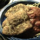 Orange Roughy in a Mushroom Sauce