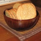Benne Cookies - I got this recipe from my Aunt Sue, a great cookie baker.  Be sure not to make them too big or too close together or you'll end up with one big cookie.
