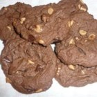 Double-Peanut Double-Chocolate Chip Cookies - The peanut butter in this dough creates a crumbly cookie.