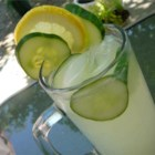 Cucumber Lemonade - Cucumber adds its cool flavor to this sparkling lemonade drink. A refreshing drink for any warm summer day.