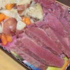 Irish Boiled Dinner (Corned Beef) - Mouth watering tender corned beef with corned beef flavored potatoes, cabbage, and carrots. This is my great grandmothers recipe from Ireland. This was served with both Irish soda bread and corn bread at our house.