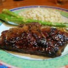 Grilled Lamb with Brown Sugar Glaze - A delicately sweet brown sugar rub will make these some of the tastiest chops you'll ever eat!