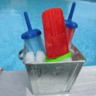 Ice Pops - Flavored gelatin and soft drink mix are the base for these easy ice pops.