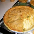 Chicken Pot Pies with Puff Pastry - This quick pot pie recipe can be altered with as many vegetables and seasonings as your heart desires. Its single crust is a square of puff pastry placed over the top of the bowl, which rises and browns beautifully.