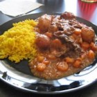 Carne Guisada III - The Perfect Puerto Rican Meal. Everywhere you go this is the one of the main dishes that is served. It goes very well served over steamed rice.