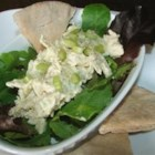 Curry Chicken Salad - Just a little curry powder makes a simple cold chicken salad a standout.