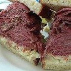 Slow Cooked Corned Beef for Sandwiches - This is an excellent recipe for party sandwiches.  I always make 2 (and sometimes 3) briskets because it goes so fast.