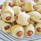 Piggy Wiggys - Yummy little pigs in a blanket that always remind me of Christmas morning!