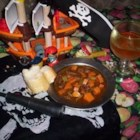 Pirate Stew - This beef stew for the slow cooker has a taste of the Caribbean (brown sugar and rum) that your whole family will love.