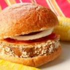 Eggplant Burgers - This is the veggie burger supreme - the easiest and MOST ECONOMICAL burger of all. A single medium-sized eggplant (together with  the usual trimmings) feeds a family of 6.