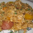 Chicken Bog - Hunker down with this chicken, sausage and rice stew. Note: This recipe is what is called 'low country cooking.'  It is a term used in the coastal regions of South Carolina.  Chicken Bog is even served at local restaurants in South Carolina along with other local favorites.