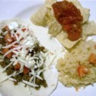 Tacos De Matamoros - A staple dish in Matamoros, Mexico, this simple recipe starts with ground beef mixed with spices that you already have in your kitchen and turns into a great family dinner! Perfect to 'make ahead' on busy days. Serve with warm corn or flour tortillas, Spanish rice, and beans-a-la-charra.