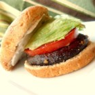 Portobello Sandwiches - Quick, juicy burgers. My friends and I eat them at least once a week!