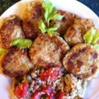 Poor Man's Crab Cakes - This economical way to make tasty crab cakes uses mashed potatoes and eggs with imitation crab, bell pepper, onion, and celery.