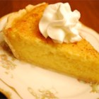 Sweet Potato Pie V - Lots of sugar and half-and-half make this pie's filling sweet, rich and creamy.