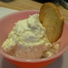 Dill, Feta and Garlic Cream Cheese Spread - The bold flavors of dill, garlic, and feta make a perfect combination for dipping!