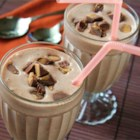 Georgia Shake - A chocolate peanut butter cup is blended with chocolate ice cream and milk.