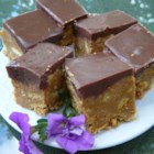 Clark Bars - These bars are EASY to make. They require no baking and are full of scrumptious chocolate and peanut butter.