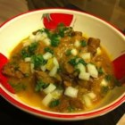 Tunisian Lamb with Saffron (Keleya Zaara) Recipe