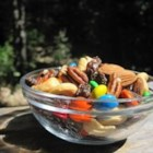 Mountain Trail Mix - Three nuts plus raisins and chocolate will keep you hiking uphill!