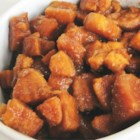 Brandied Candied Sweet Potatoes - This is a favorite of ours for many years because it is different from the many mashed sweet potatoes recipes. Originally submitted to ThanksgivingRecipe.com.
