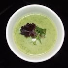 Creamy Zucchini Soup - This is a delicious soup recipe that is great for using up all that extra zucchini you have in the garden. Creamy texture comes from cottage cheese and tofu.