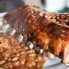 Baby Back Ribs - An overnight marinade makes these baked BBQ ribs extra succulent.
