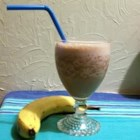 Chocolate Banana Smoothie - A quick, cool, tasty treat, perfect for a hot summer day!