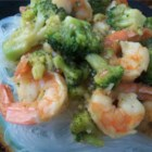 Cap Cai - Shrimp, broccoli, cauliflower, and other vegetables are simmered with oyster sauce in this tasty Indonesian dish.