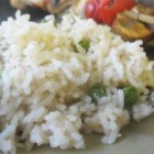 Peas Rice - This is a very simple to make. Seasoned rice and peas make an excellent main meal. I am sure it will become a favorite once you try it.