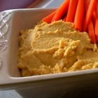 Curried Hummus - Fresh lemon juice brightens the flavors of this garlic and curry hummus.
