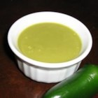 Jalapeno Hot Sauce - Jalapenos, garlic and onion sauteed and pureed into fresh homemade hot sauce.