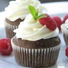 Zucchini Raspberry Cupcakes - This very tasty cupcake uses zucchini for moisture, and raspberries and chocolate for a sweet, tart flavor.