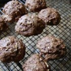 Chocolate Zucchini Cookies - Soft chocolaty drop cookies made with zucchini.