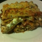 Barbecue Lasagna - Using prepared pulled pork in barbeque sauce helps to put an American spin on this classic dish.