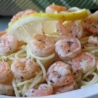 Shrimp Lemon Pepper Linguini - Linguine is tossed with a lemony wine and shrimp mixture!