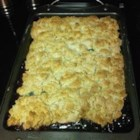 Kentucky Blackberry Cobbler - A homemade buttermilk biscuit tops the fresh berries of this home style cobbler.