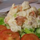 Dennie's Fresh Lobster Salad - A delicious treat anytime! A simple lobster salad with butter and just a hint of mayonnaise so that you can still taste the sweet lobster meat. Serve on toasted rolls or croissants. You won't be disappointed!