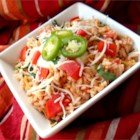Mexican Rice III - This is an excellent authentic Mexican rice recipe (not to be confused with Spanish rice) that I make as a side dish with all of my Mexican dishes. The key is cooking the rice properly and using good quality chicken broth or stock.