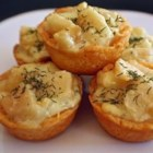 Blue Cheese and Pear Tartlets - Tasty, hot appetizers that take little time to prepare but will impress your guests!
