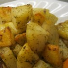Laura's Lemon Roasted Potatoes - Try this recipe for lemon and dill flavored roasted potatoes that fit perfectly into a Mediterranean   or Greek menu.