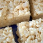 Marshmallow Crispie Bars - Easy, easy, easy.  As a variation, you can add candy coated chocolates, chocolate chips, or nuts.