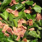 Southern Style Holiday Greens - This is an old Southern-style recipe for country greens that my grandma used to make at all our holiday meals. Turnip greens and mustard greens are cooked with bacon and dill pickle juice for an added kick.