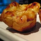 Cheese Ramkin - This is a recipe from my ninety three year old grandmother from Switzerland. She is still making these cheesy bite sized puff pastry appetizers that can be served at room temperature or hot out of the oven. Once you have had one, good luck stopping.