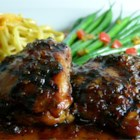 Shoyu Chicken - Shoyu Chicken is Hawaii's answer to teriyaki chicken. Chicken thigh meat is marinated in a sweet, spicy soy sauce marinade, then grilled and served with rice.