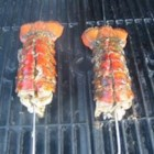 Grilled Rock Lobster Tails - Grilled rock lobster tails with seasoning. These take very little cooking time, yet are so good!