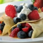 Vanilla Crepes - Crepes are made with extra vanilla for a heavenly aroma.