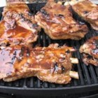 Barbecue Ribs - Sweet and spicy barbecued spareribs with a touch of rum.