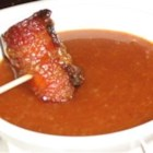 Bacon Wrapped Brown Sugar Smokies Dipping Sauce - This sweet, creamy sauce is the perfect accompaniment to smokies.